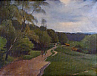 hamstead heath, may by maurice field