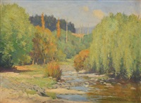 in the taieri valley by charles wheeler locke