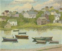 new england in september (riverdale, gloucester, massachusetts) by emma fordyce macrae