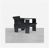 early crate chair by gerrit thomas rietveld