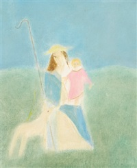 madonna and child by craigie aitchison