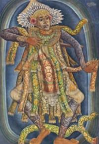 penari bali (balinese dancer) by anak agung gede sobrat