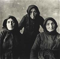 three cretan women by irving penn