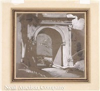 the roman arch at susa in piedmont by john ruskin