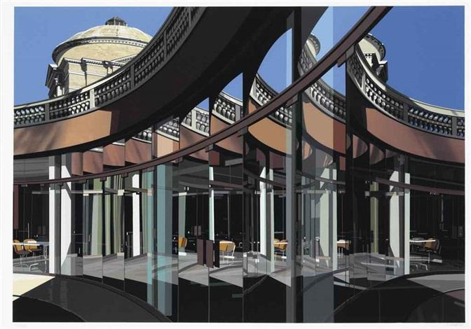 urban landscapes no 3 2 works by richard estes