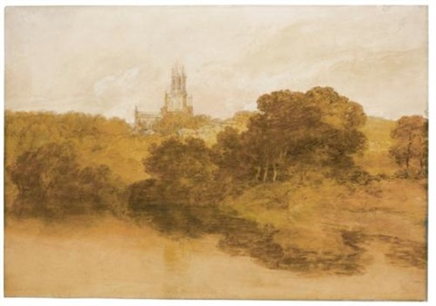 fonthill abbey, wiltshire by joseph mallord william turner