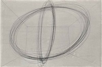 two orbits in a room by antony gormley