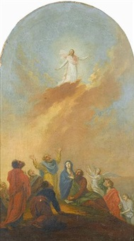the ascension by conrad geiger