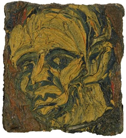 self portrait no 1 by leon kossoff