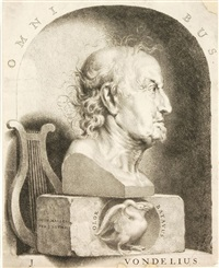portrait j. vondelius by johannes lutma the younger