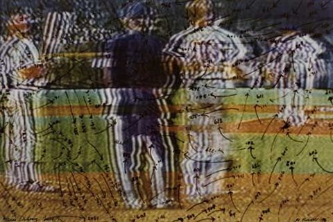 video drawing the baseball series by howardena pindell