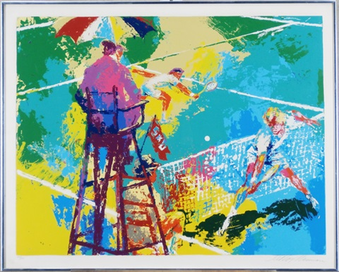sudden death by leroy neiman
