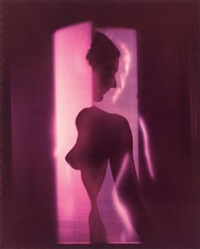 purple nude, new york by erwin blumenfeld
