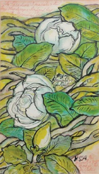 white magnolias by stephen tennant