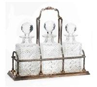 decanter set (set of 4) by c.j. vander ltd