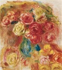 bouquet de fleurs by pierre-auguste renoir