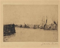 l'estacade à ostende (the breakwater at ostend) by james ensor