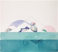 senza titolo (2 works) by keizo morishita