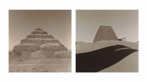 saqqara ii dynasty iii 2 works by lynn davis