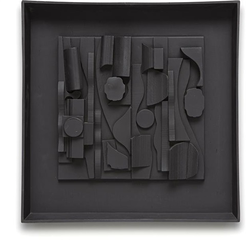 symphony three by louise nevelson