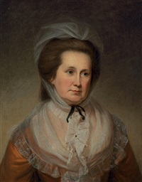 mrs. sarah bordley by charles willson peale
