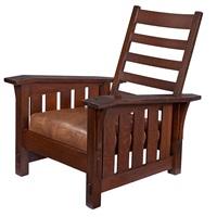 chair #369 by gustav stickley