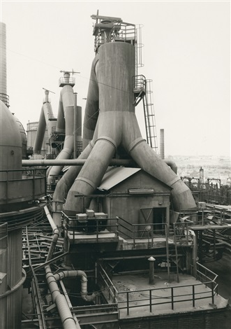 blust furnace völklingen saarland germany by bernd and hilla becher