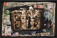 diary page (diptych) by peter beard
