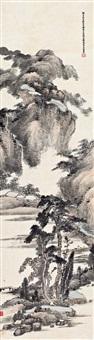 溪山清暑<br>landscape by xiao junxian