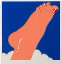 pieds aux ongles vernis by tom wesselmann