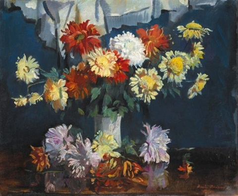 chrysanthemums by david alison
