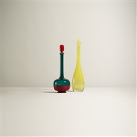 decanters (set of 2) by gio ponti and venini