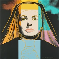 the nun, from: ingrid bergman by andy warhol