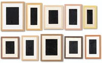 10 surrogates (10 works) by allan mccollum