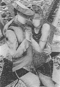 couple de tangueros by claudia salamonesco