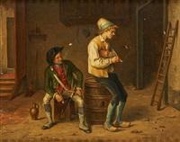 les fumeurs de pipe by jean baptiste madou