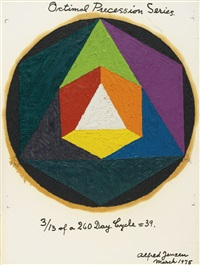 octimal precession series: 3/13 of a 260 day cycle = 39 by alfred jensen