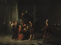 the presentation at the temple by jacob van spreeuwen