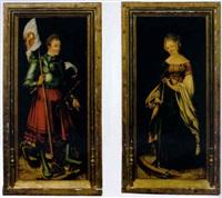 saint george by hans (suess von) kulmbach