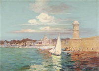 le port de marseille by francois maurice reynaud