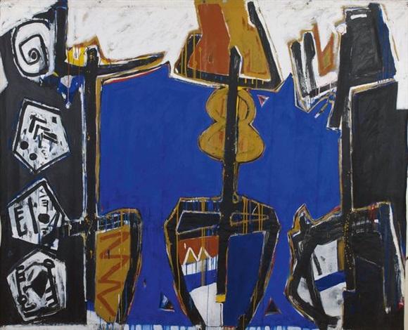 composition primitiviste by ouattara watts