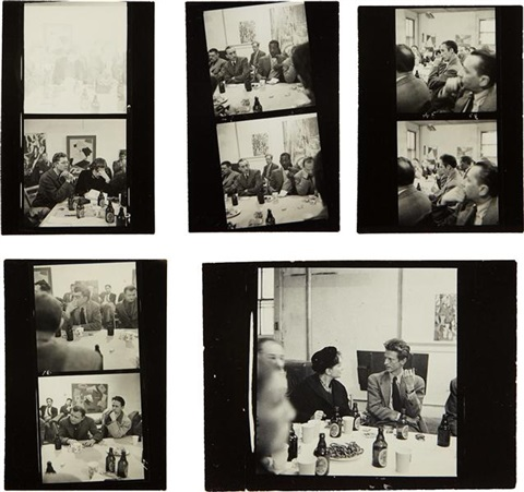 selected images from artists sessions at studio 35 15 works by aaron siskind