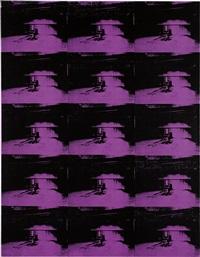 andy warhol, lavender disaster, 1996 by richard pettibone