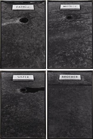 mother 3 others set of 4 by sophie calle