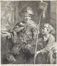 the rat-catcher by cornelis visscher