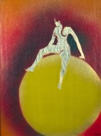 le ballon jaune by evelyne axell
