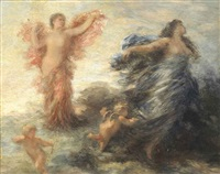 an allegory of love by henri fantin-latour