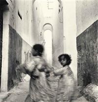 running children, morocco, rabat by irving penn