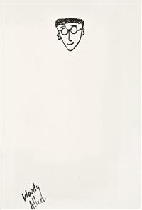 self-portrait by woody allen