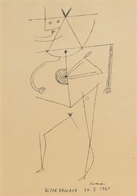 senza titolo 26-1-1961 by victor brauner